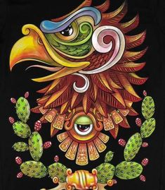 Tattoo Mexicana, Aztec Symbols, Mayan Symbols, Aztec Drawing, Mexican Art Tattoos, Aztec Tattoo Designs, Detailed Coloring Pages, Aztec Culture, Mexico Art