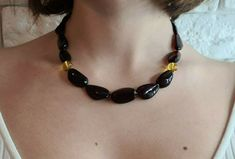 Amber Necklace, Baltic Amber, Chokers