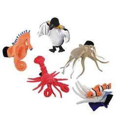 Sealife Glove Puppet (set of 5)