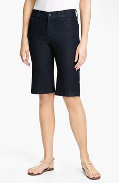 I like longer shorts, but these have a strange flare at the bottom.