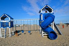 Come play on our play set! http://www.thesandsatlanticbeach.com