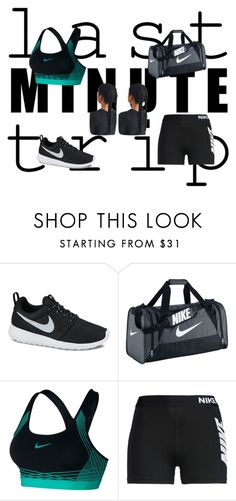 """Training day"" by zmpof2 ❤ liked on Polyvore featuring NIKE"