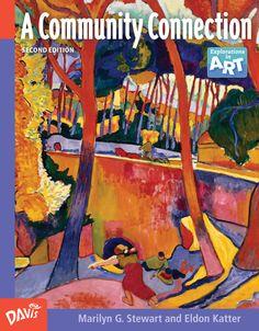 Davis publications davisarted on pinterest middle school art education curriculum explorations in art a community connection artcurriculum fandeluxe Images
