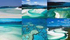 Whitsunday plus belle île au monde lagon turquoise Australie Queensland plage de sable blanc