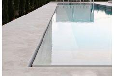Overloop Zwembad Origineel Kleur Stenen