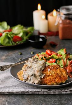 Spoil your loved one with Montagus Valentines Day recipe for almond crusted thyme chicken. A decadent dish ideal for dates. Read this recipe online. Cranberry Vinaigrette, Crusted Chicken, Healthy Lifestyle, Almond, Valentines Day, Salad, Dishes, Fresh, Heart