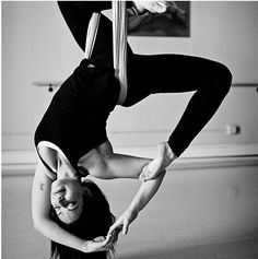 Aerial Yoga Mermaid...must learn this!