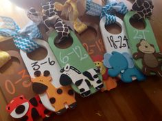 Hand Painted Closet Dividers For Sweet by VeronicasClosetVCC, $40.00