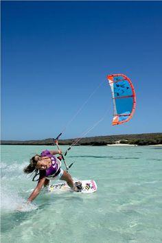 Love Kite- Surfing #kitesurfing http://www.blueprinteyewear.com/