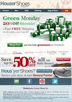 Green Monday 20% off site wide! Today only. (Some restrictions apply)