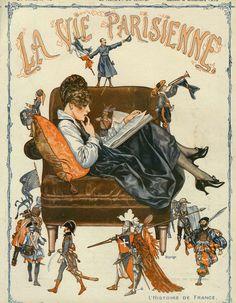 Chéri Hérouard (1881 – 1961). La Vie Parisienne, 2 Décembre 1916. [Pinned 31-vii-2015]