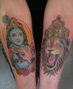 krishna tattoo - Google Search
