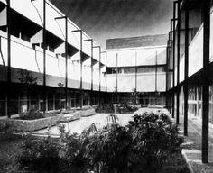 Clínica Hospital IMSS 1965  Ciudad Obregón, Sonora. México  Arq. Enrique del Moral