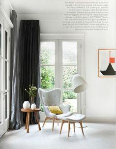 Featherstone armchair, Est magazine