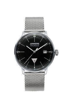 Junkers 6071M-2: diese 3-Zeiger Uhr von Junkers gehört zur Serie Junkers Bauhaus Lady. Für Damen, die modernes und schlichtes Design und flache Uhren lieben. Mit persönlicher Gravur bestellen.