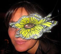 Philip Treacy Butterfly Mask