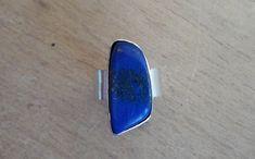 GALLERY Handmade: Silver ring Lapis