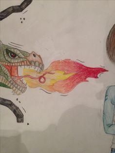 zo is het vuur geworden ik ben er erg blij mee het zit goed tussen realitijd en cartoon in