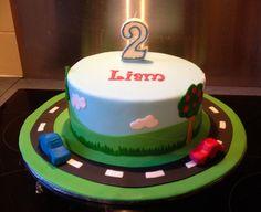 Liam's 2nd birthday cake by Sandra (socake), via Flickr