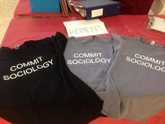 Be a thinker & commit sociology.