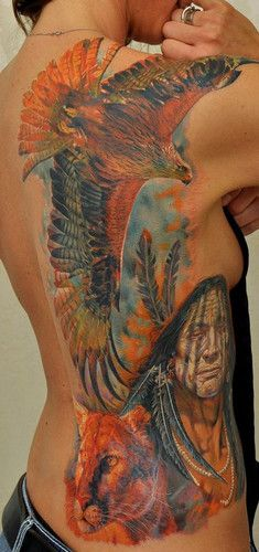 http://www.tattooistart.com This is amazing artwork. I would like it on a canvas to hang on my wall.
