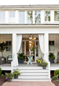 Senoia, Ga Idea House back porch