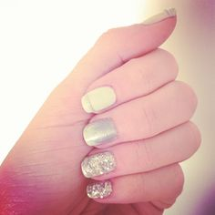 We loved sparkly nail polish but hated taking it off...until we discovered this simple trick!