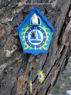 Reloj de cuco marinero.