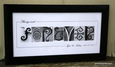 Alphabet  Photography   Always and Forever by AlphabetArtDesigns, $48.00