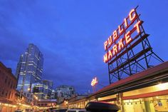 14 free things in Seattle Classically Seattle, Pike Place Market is a free must-see. Image by Richard Cummins / Getty