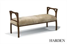 New Artisan 3343 Nadine Bench shown in spring creek finish.