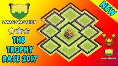 TH8 Trophy Base With New Update 2017. Best Anti 3 Stars TH8 Trophy Pushing Base 2017 Of Savage Vacation Clan. Clash Of Clans New Town Hall 8 (TH8) Trophy/Defense Base of 2017. COC TH8 Trophy Base 2017.   https://www.youtube.com/watch?v=ya4lEskeuCw    How To Help My Channel?   Subscribe This Channel: https://www.youtube.com/channel/UCIl3Iho_kXesGZGqG_ITztA?sub_confirmatoin=1  Like This Video  Share This Video On Social Media  Add This Video in Watch Later List  Turn On Send me All…