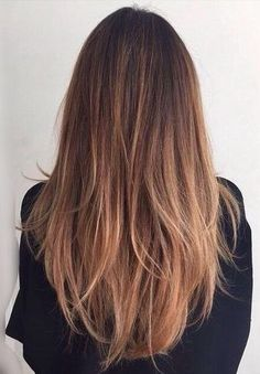 subtle brown ombré More