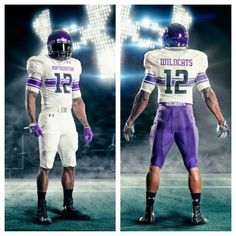 GO U NU. Northwestern University Wildcats Football Uniform 2012 (away) by Under Armour Football Art, College Football, American Football, Northwestern University, Football Uniforms, Cleveland Browns, New England Patriots, New Outfits, Under Armour