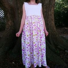 DIY Nightgown Pattern | AllFreeSewing.com