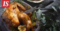Ranskalainen joulukalkkuna on näyttävä joulupöydän kruunu. Turkey, Meat, Food, Turkey Country, Essen, Meals, Yemek, Eten
