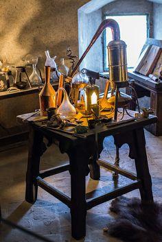 Alchemists' Quarters, Golden Lane, Prague