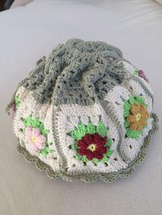 Crochet+Granny+Square.bag..+Handmade+art+purse...photo+prop.pouch..