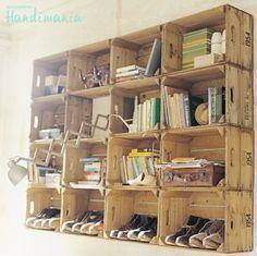 Wooden Crate Storage
