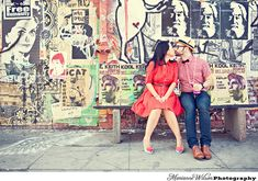 He wants engagement pictures in Downtown LA.