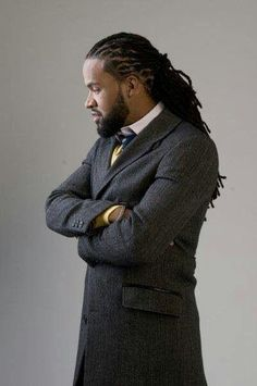 Locs..this man, my oh my. Umm!