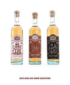 High West Whiskey Rebrand by Tim Praetzel, via Behance