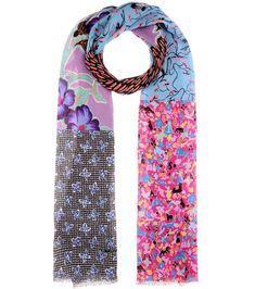 ETRO Printed silk scarf. #etro #scarves