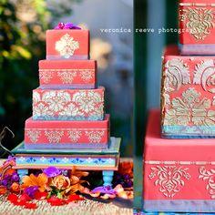 indian wedding cake.