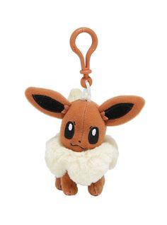 Pokemon Eevee Plush Key Chain,