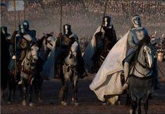 Baudouin IV sur le champ de bataille Croisade.
