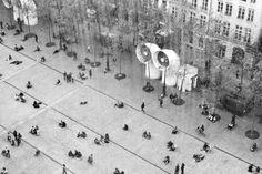 Place Georges-Pompidou #centre #pompidou #paris #b&w #photography