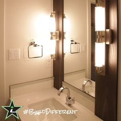 #BuildDifferent means your guest bathroom can be as original as you would like.  #YQR #ModernHome #CustomBuild #CustomHomes #quality #modern #original #home #design #imagine #creative #style #realestate #trueoriginal #dreamhome #architecture #dreamhomes #interior #YQRbuilds #construction #house #builder #homebuilder #showhome #beautiful #preparation #dream #DamnGoodHouses
