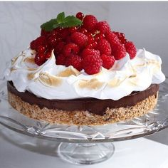 Tatyana's Everyday Food, Cake Recipes, Dessert Recipes, Scones Ingredients, Norwegian Food, Berry Cake, Sweets Cake, Cakes And More, Let Them Eat Cake