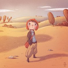 adventurer (GIF Animation) by Iraville
